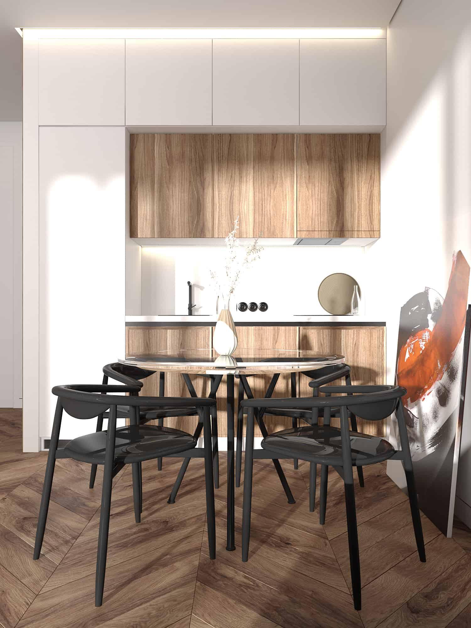 TT10A. Apartment in Taryans Towers, Kyiv | Interior Designio