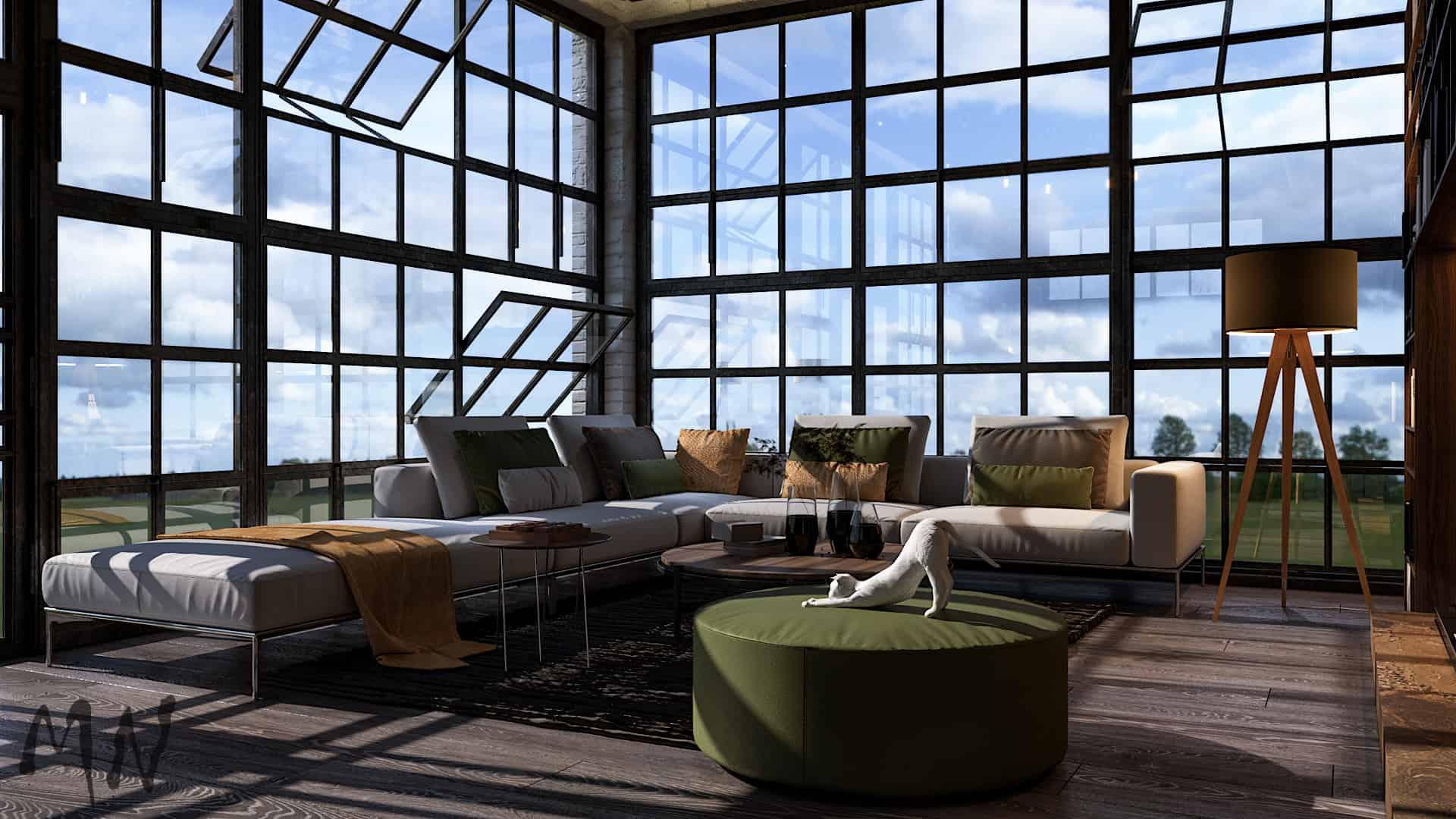 Studio loft apartment | Interior Designio