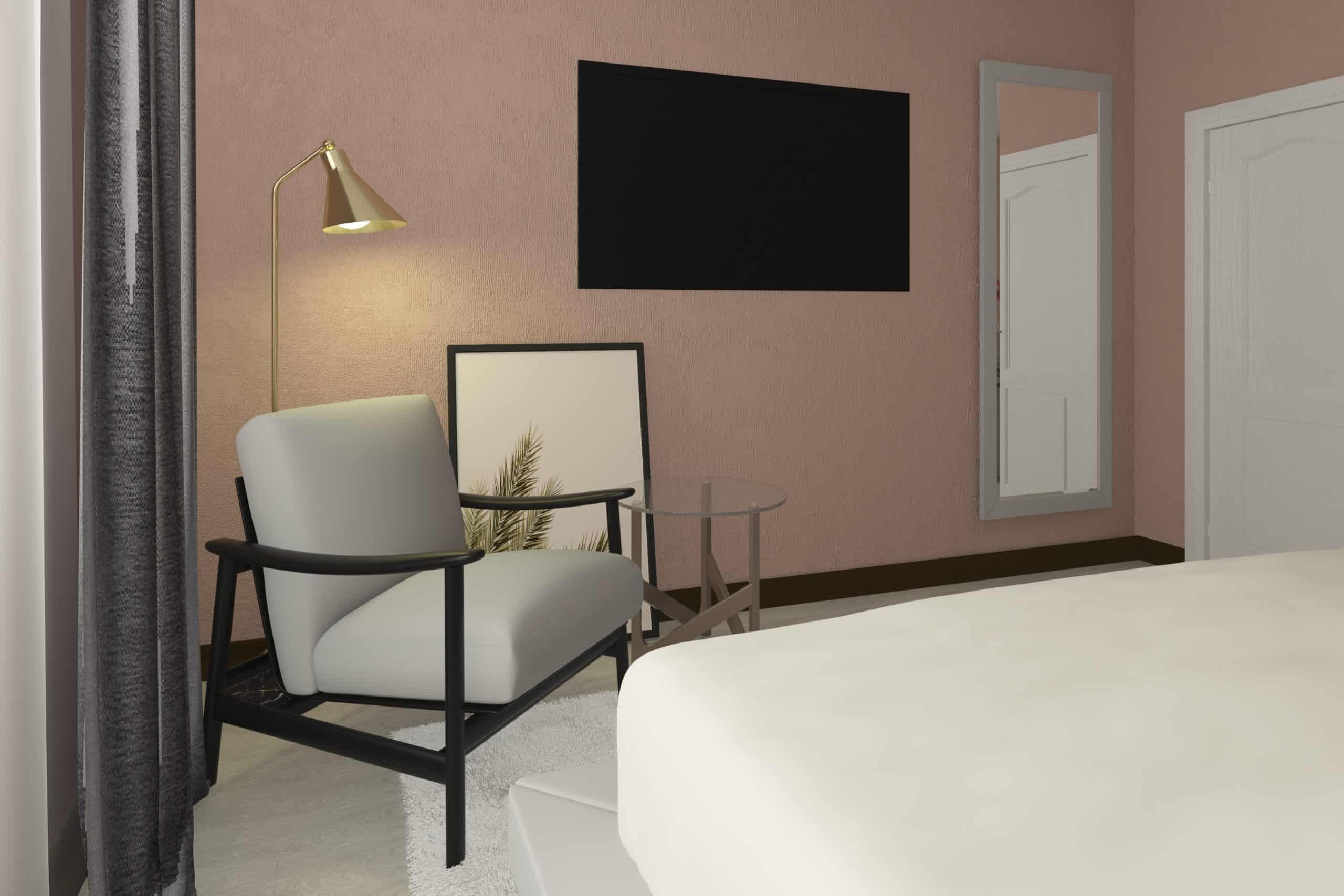 Bedroom (light) | Interior Designio
