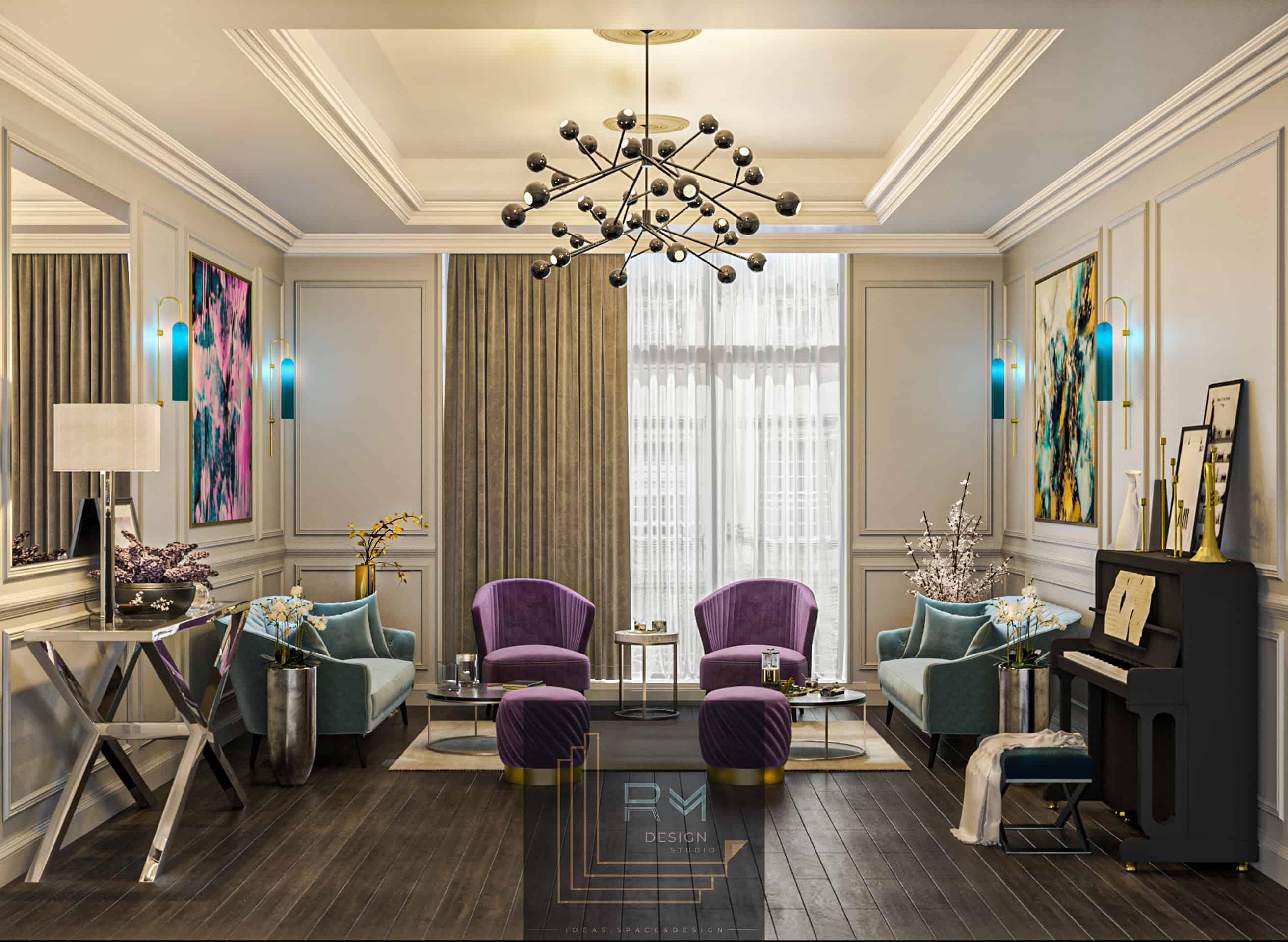 New Classic Livingroom | Interior Designio