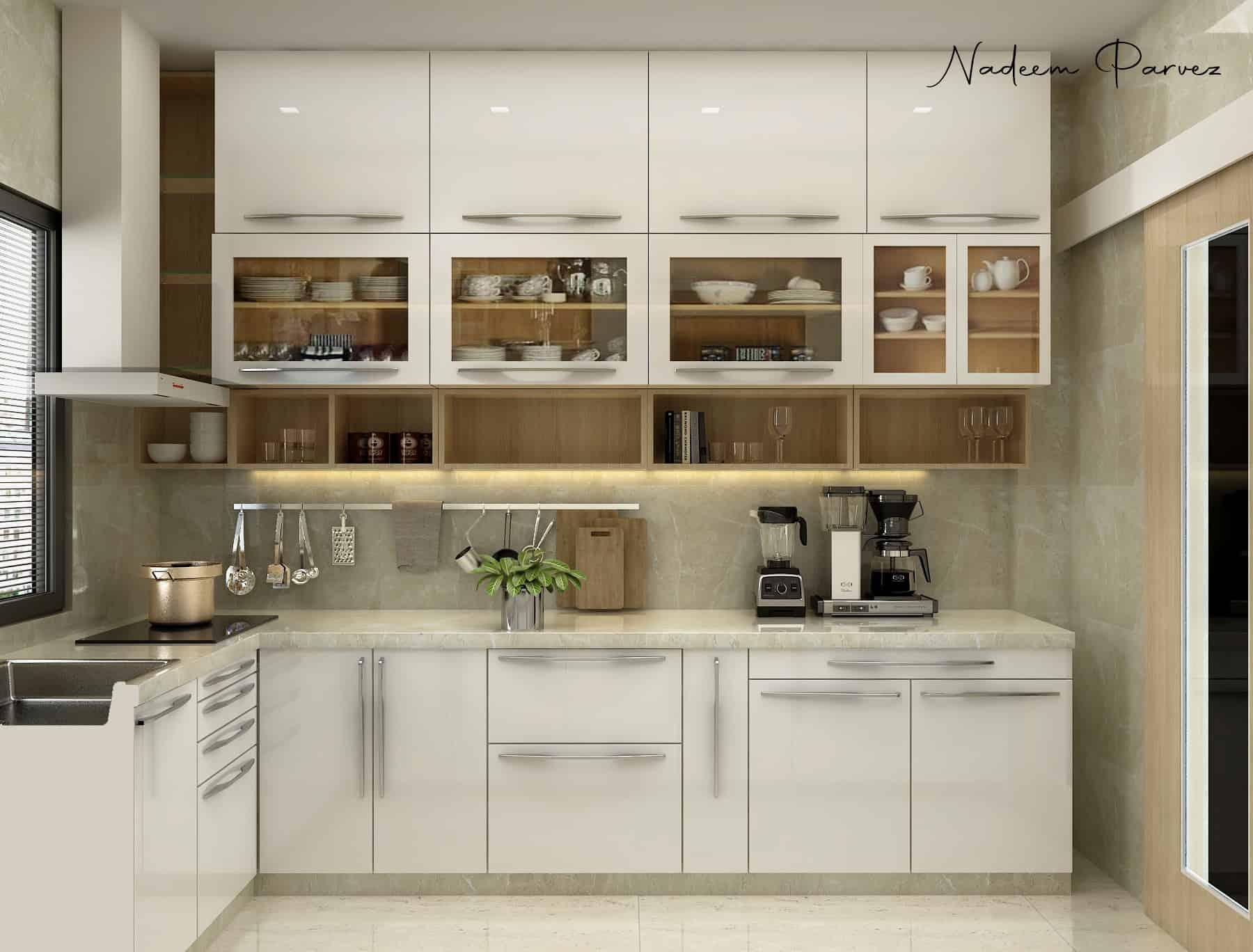 Modern Modular Kitchen | Interior Designio