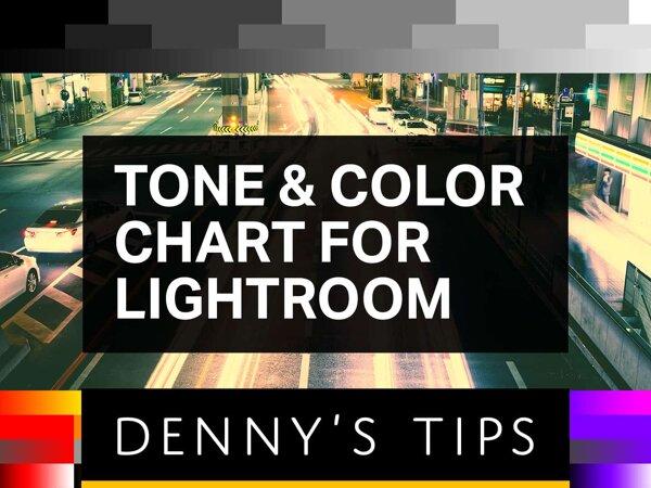 Tone & Color Chart for Lightroom