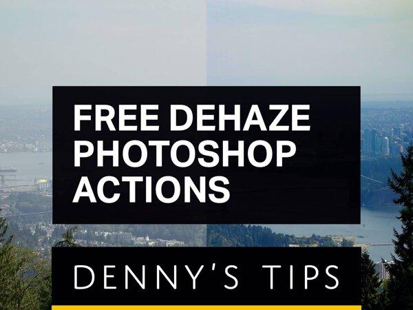 Free Dehaze Photoshop Actions