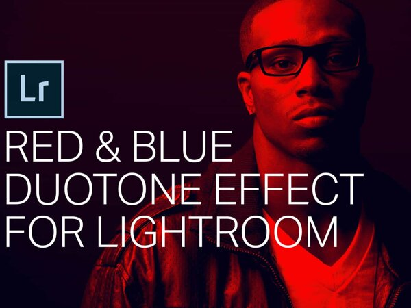 Red and Blue Duotone Effect for Lightroom